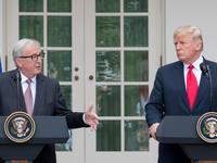 Jean-Claude Juncker, Donald Trump